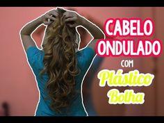 CABELO ONDULADO COM PLÁSTICO BOLHA!