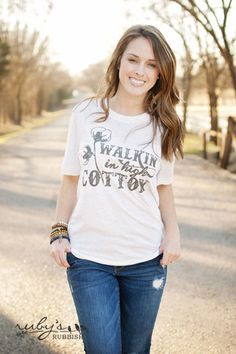 Walkin' in High Cotton by RubysRubbish on Etsy $24.00 Available in sizes s-3xl