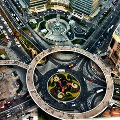 View from the Oriental Pearl Tower in Shanghai, China. This place is popular with Tourists, Business Travelers.
