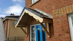 Back Door Canopy, Lean To Conservatory, Lean To Roof, Wooden Garden Furniture, Custom Sheds, Wendy House, Timber Buildings, Outdoor Living, Outdoor Decor