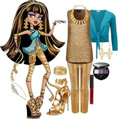 Designer Clothes, Shoes & Bags for Women Halloween Doll, Halloween Outfits, Halloween Costumes, Monster High Clothes, Monster High Dolls, Ariana Grande Outfits, Monster High Birthday, Shugo Chara, Fandom Fashion