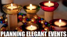 50 Considerations for Planning Elegant Events