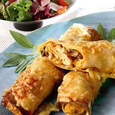 Tortilla med kyckling   Recept   ViktVäktarna Food N, Food And Drink, Tex Mex, How To Cook Chicken, Lchf, Food Hacks, Food Inspiration, Tapas, Veggies