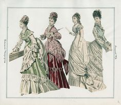 Casey Fashion Plates Detail | Los Angeles Public Library Peterson's Magazine Date:  Tuesday, August 1, 1876
