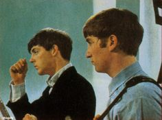 Beatles - Paul and John Great Bands, Cool Bands, All My Loving, My Love, The Quarrymen, Beatles Band, George Martin, Lennon And Mccartney, Beatles Photos
