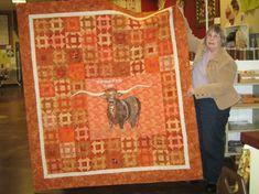 Longhorn quilt patterns | Honey Bee Quilt Store: Becky's Longhorn Quilt