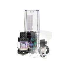 HORIZON FALCON SUB-OHM TANK: Sub-Ohm atomizer from Horizon Tech, including an extravagant frame plan with triple base wind stream framework and another curl innovation with imaginative flax and wood mash materials.