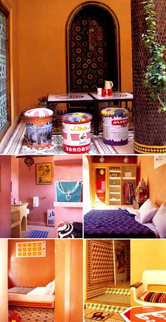 what a great idea! This is Riad Yima in Marrakech