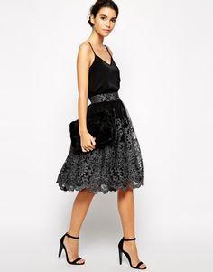 Enlarge Chi Chi London Premium Metallic Lace Full Midi Skirt: http://www.asos.com/Chi-Chi-London/Chi-Chi-London-Premium-Metallic-Lace-Full-Midi-Skirt/Prod/pgeproduct.aspx?iid=4541720&affId=2446&WT.tsrc=Affiliate&r=2