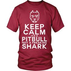 Mine isn't even a pit, and people still freak out!  Keep Calm Pitbull