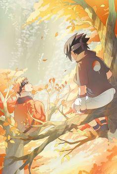 Sasuke Uchiha x Naruto Uzumaki/Namikaze (SasuNaru/NaruSasu) Sasuke X Naruto, Anime Naruto, Naruto Team 7, Sarada Uchiha, Me Anime, Naruto Cute, Sakura And Sasuke, Naruto Shippuden Anime, Baby Sasuke