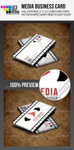 Simple Media Business Card