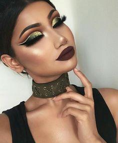 @makeupbyalina #amazing #makeup #fall #eyelashes #eyebrows #lips #biggerlips #highlight