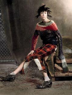 Knit Dreams from MitiMota - barsanworld:   fashionistas.com.gr/    Gorgeous!