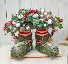 Купить Композиция Снеговики - зеленый, снеговик, зима, Новый Год, подарок, рождество, Праздник