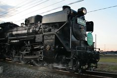 Japanese Steam Locomotion. Function is design.