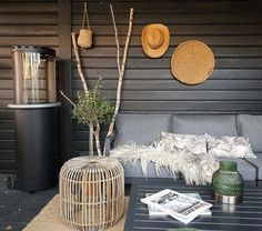 Porch Veranda, Farrow Ball, Outdoor Living, Sweet Home, Shed, Table Decorations, House Styles, Flowers, Inspiration