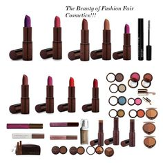 """""""The Beauty of Fashion Fair Cosmetics!!!!"""" by minadinamike on Polyvore featuring beauty and Fashion Fair"""