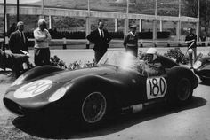 1960 Targa Florio- n.180 Maserati 200 SI , Franco Pisanò - Salvatore Sirchia