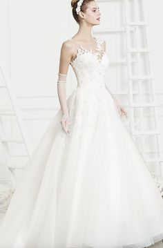 Wedding dress idea; Featured Dress: The Beloved Collection via Casablanca Bridal