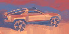 Painting pixels on Behance