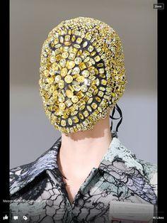 Martin Margiela, Fashion, Identity, Design, Student, Jewellery, Accessories, Millinery, Metalwork, University, Project, Inspiration, Headwear, Armour, Protection