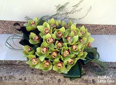 Arranjo com flores naturais