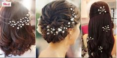 Hair Pin With Pearls
