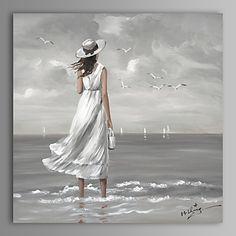 【今だけ☆送料無料】 アートパネル  人物画1枚で1セット 白い ドレス ワンピース 女性【納期】お取り寄せ2~3週間前後で発送予定