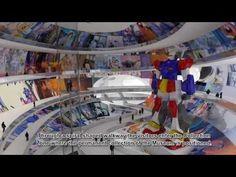 MVRDV China Comic & Animation Museum (Animation by Wieland & Gouwens).