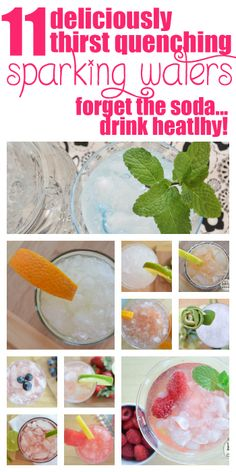 MOVE OVER DIET SODA! These 11 deliciously refreshing sparkling waters are the new thrist quencher!