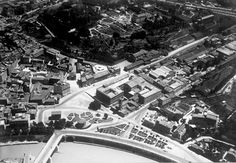 Piazza Bocca della Verità (1930 ca) Bucharest, Old Photos, Airplane View, Rome, City Photo, Memories, Antique, Antique Photos, Cities
