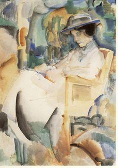 pintura de Piet Wiegman (1885 - 1963)
