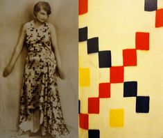 Sonia Delaunay  was a Ukrainian-born French artist,     the Orphism art movement, noted for its use of strong colours and geometric shapes. Her work extends to painting, textile design and stage set design