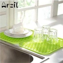 Kitchen Sink Mat Dishes Cup Dry Mat Rack Silicone Pot Holder Heat Resistant Can Opener Non Slip Mat Table Placema With Images Silicone Pot Holders Kitchen Dishes Sink Mats