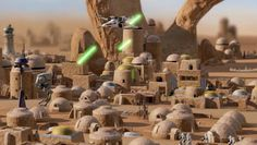 nice Footage Of Alleged, Very likely Canceled, Star Wars RTS Emerges