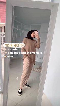 Modern Hijab Fashion, Hijab Fashion Inspiration, Workwear Fashion, Muslim Fashion, Stylish Hijab, Casual Hijab Outfit, Hijab Chic, Casual Outfits, Cute Lazy Outfits