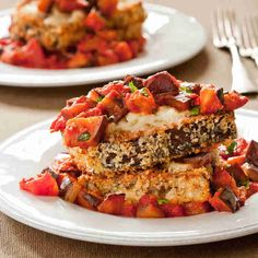 Eggplant Parmesan For Two | Cook's Country