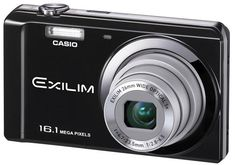Casio Digital Camera Exilim EX-ZS6 BK, Black. Total Pixels: 16.1 Megapixels, 5 X Optical Zoom. Focusing Range: 5cm - Infinity. Movie Record: HD(1280X720)/STD(640X480). LCD Monitor: 2.7 Inch. With built-in flash off.