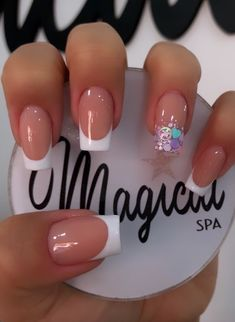 Natural Acrylic Nails, Simple Acrylic Nails, Best Acrylic Nails, Long Nail Designs, Acrylic Nail Designs, Aycrlic Nails, Swag Nails, Berry Nails, Cute Halloween Nails