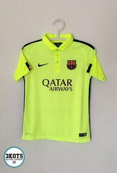 e76cef08b Advertisement(eBay) BARCELONA FC 2014 15 Third Football Shirt (Youth L)