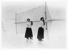 Skate sailing is a sport with a long tradition, probably as old as ice skates themselves.