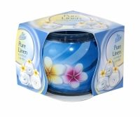 PAN AROMA SCENTED CANDLE PURE LINEN Scented Candles, Health And Beauty, Household, Fragrance, Fish, Pure Products, Pisces, Perfume