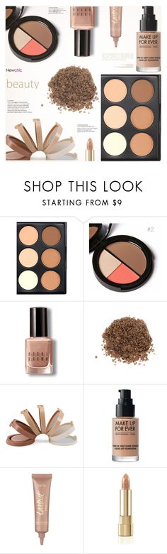 """""""Newchic Beauty 5"""" by arohii ❤ liked on Polyvore featuring beauty, Bobbi Brown Cosmetics, MAKE UP FOR EVER, tarte, Dolce&Gabbana, beautyset, polyvorebeauty and newchic"""