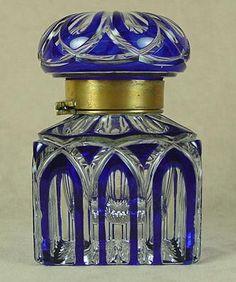 Cobalt cut to clear inkwell, circa 1901 | 328_1.jpg (333×399)