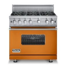 Custom 36 Inch Sealed Burner Gas Range - Viking Range Corporation...hubba hubba....