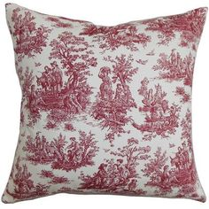 One Allium Way Leflore Cotton Throw Pillow Feather Pillows, Floral Pillows, Farmhouse Decorative Pillows, Potted Lavender, Braided Wool Rug, Weathered Wood, Cushion Pads, Toss Pillows, Joss And Main