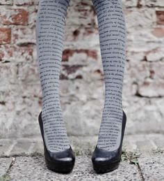 literary tights...
