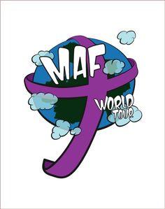 Logotipo MAF World Tour