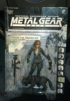 McFarlane Toys Metal Gear Solid Sniper Wolf Action Figure